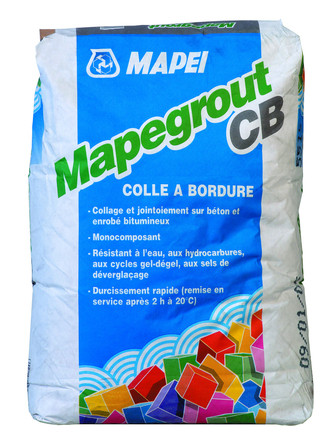 MORTIER MONOCOMPOSANT MAPEGROUT CB 25KG