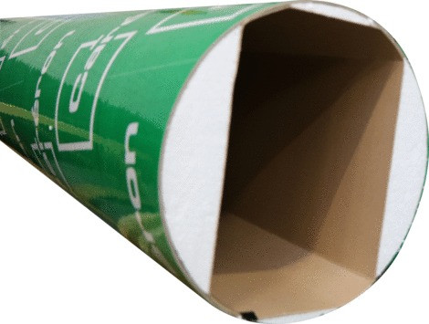 TUBE COFFRAGE CARTON RECT. 200X250MM 3MLLISSE CARERON