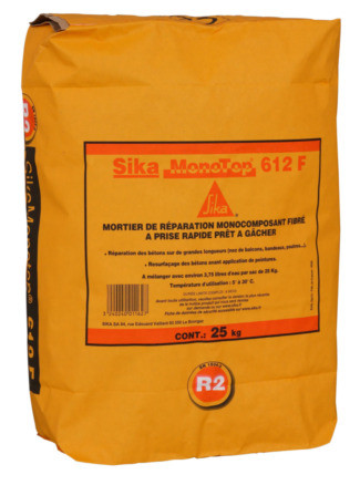MORTIER SIKA MONOTOP-612 F 25KG