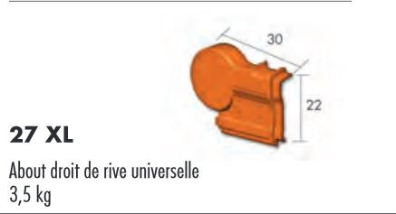 ABOUT RIVE UNIV DROITE ROUGE FLAMME