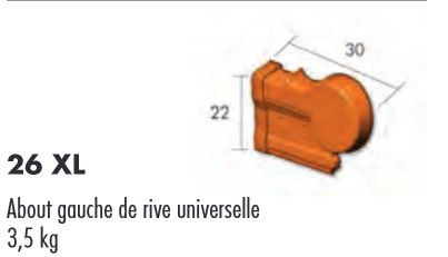 ABOUT RIVE UNIV GAUCHE ROUGE FLAMME