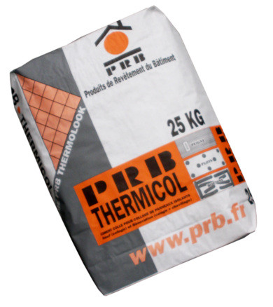 CIMENT COLLE PRB THERMICOL GRIS 25KG