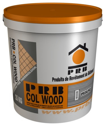 COLLE PRB COL WOOD GRIS - 15KG(COLLE POUR ISOLANT SUR SUPPORT BOIS)