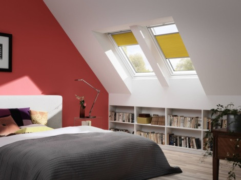 VELUX GPL 2076 MK08 78X140CM. WFENÊTRE À PROJECTION CONFORT.FINITION WHITE FINISH