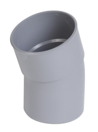 COUDE SIMPLE PVC GRIS 20° MF D. 80MMREF : CR2