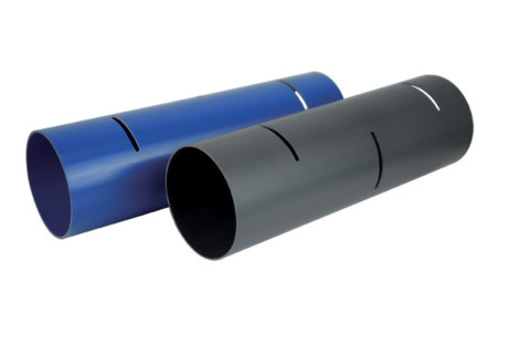 TUBE D'ÉPANDAGE PVC CR4 BLEU D.100MM 4ML