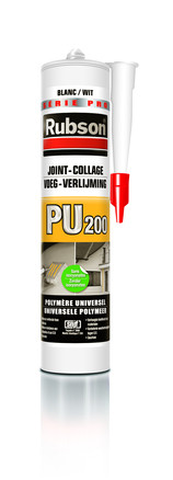 MASTIC RUBSON PU 200 JOINT COLLAGE BLANC280ML