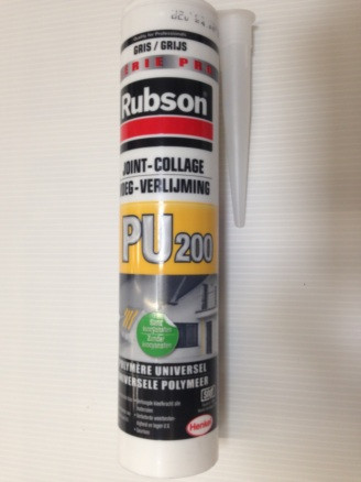 MASTIC RUBSON PU 200 JOINT COLLAGE GRIS280ML