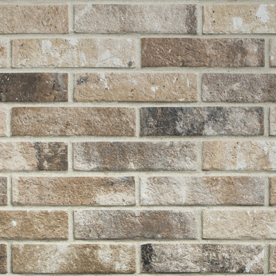 CARRELAGE BEIGE BRICK 6X25CM.RON LONDON. RÉF : J85878