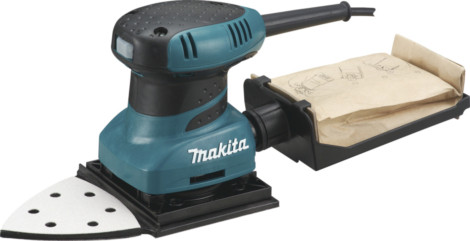 PONCEUSE VIBRANTE TRIAN.B04565 MAKITA200W POUR VOLET A PERSIENNE