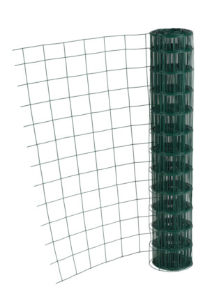 GRILLAGE AXIAL SUPER 220 VERT 1,50X25MLM. 100X50MM - FIL 2,2MM -  POT. UNIVERS