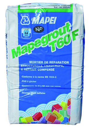 MORTIER RÉPARATION MAPEGROUT T60F 25KG